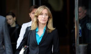 'Straightforward payment for straightforward cheating': Desperate Housewives star Felicity Huffman leaves court in April