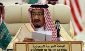 Donald Trump said King Salman would bolster production 'maybe up to 2,000,000 barrels'.