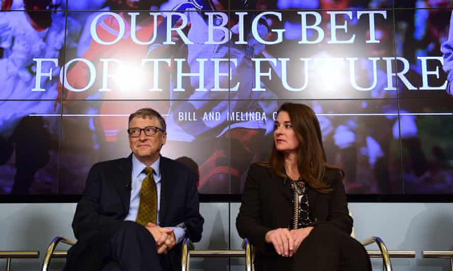 Bill and Melinda Gates at an event in Brussels, Belgium, earlier this year.