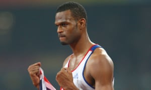 Germaine Mason pictured after clinching the silver medal in the high jump final in Beijing.