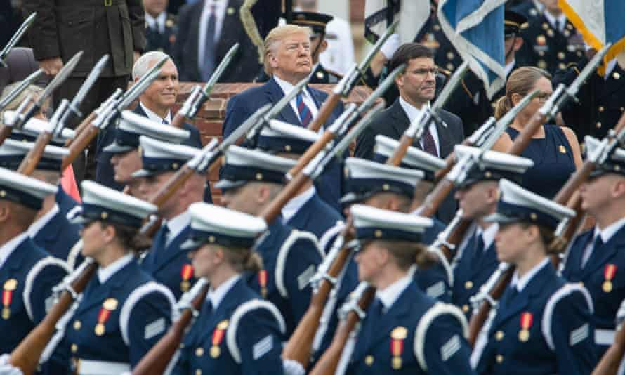 'Donald Trump dreams of parading armies down the streets of Washington. He exalts men with weapons the way football fans deify their favorite quarterbacks.'