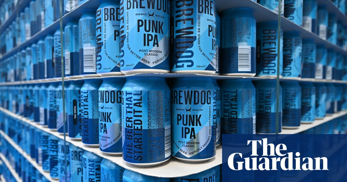 Winner of BrewDog's 'solid gold' beer can finds prize is made largely of brass