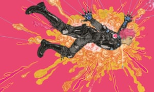 an illustration from Madi, the conclusion of Duncan Jones's 'Mooniverse trilogy'.