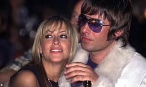 Nicole Appleton and her ex-husband, Liam Gallagher, formerly of Oasis