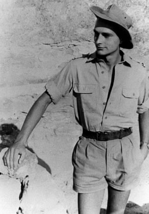 The future French president served in the army in Algeria in the 1950s