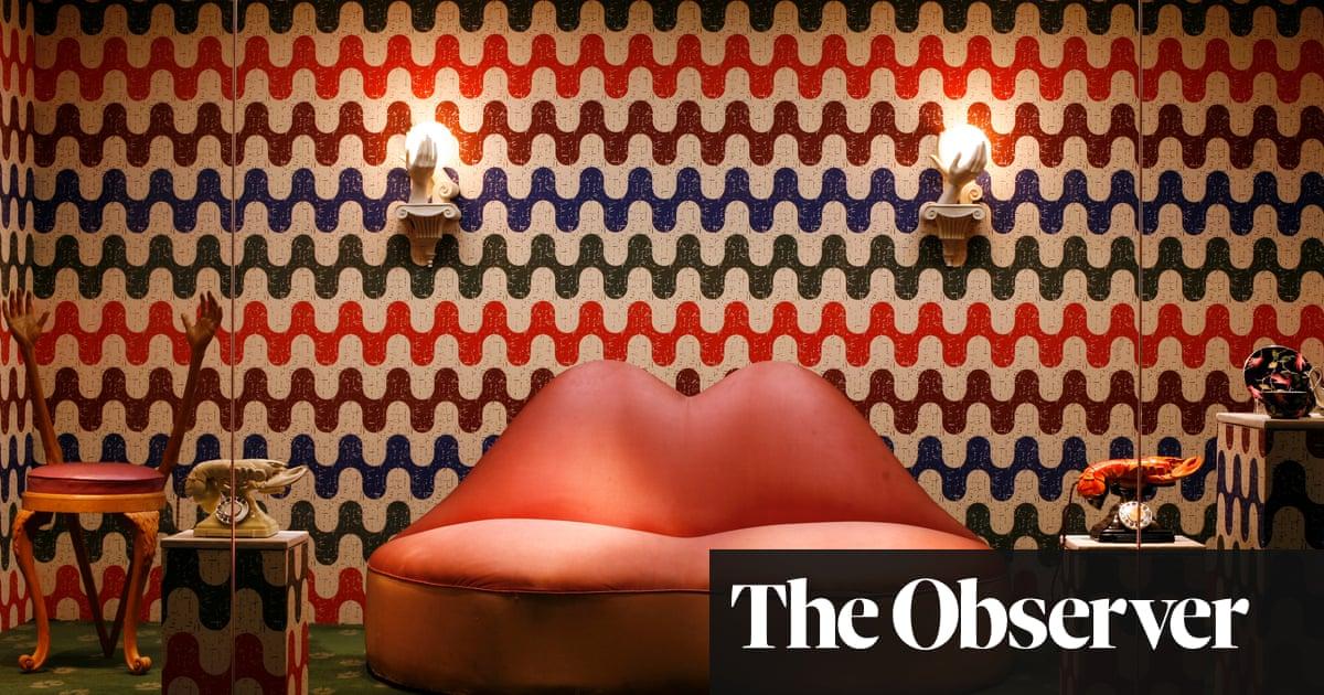 How Dalí's 'lips' sofa began life … on the back of an envelope