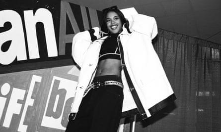 Aaliyah in 1995