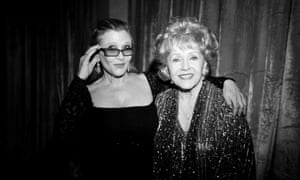 Carrie Fisher and Debbie Reynolds in 2015.