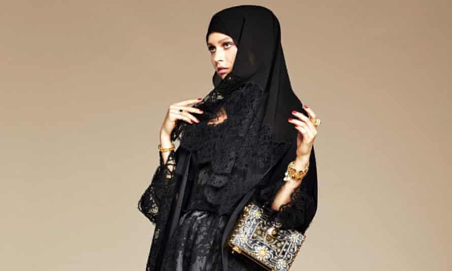Dolce & Gabbana's Abaya line