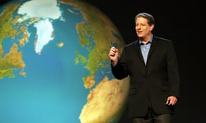 Man on a mission: Al Gore in An Inconvenient Truth.