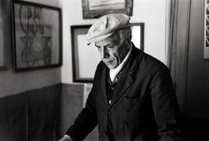 Henri Cartier-Bresson Artist Georges Braque, 1944