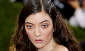 The singer Lorde