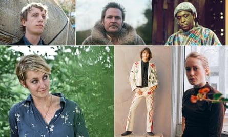 Something celestial … (clockwise from top left) Steve Gunn, Hiss Golden Messenger, Sun Ra, Tamara Lindeman, Gram Parsons and Joan Shelley.