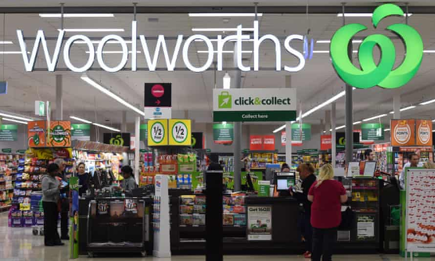 A Woolworths supermarket
