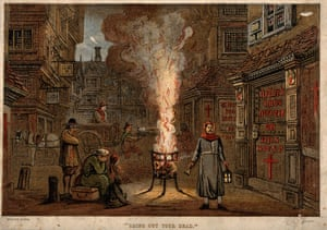 Great Plague In LondonGreat Plague in London, 1665. Private Collection. Artist Anonymous. (Photo by Fine Art Images/Heritage Images/Getty Images)