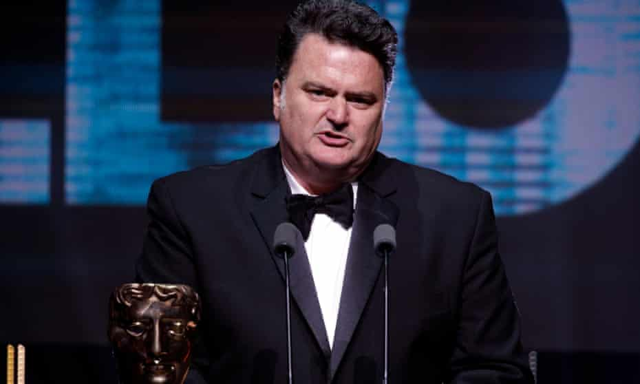 'We need new voices, new perspectives' … Tim Schafer accepts the Bafta fellowship.