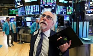 Trader Peter 'Einstein of Wall Street ' Tuchman at the New York Stock Exchange earlier this year.
