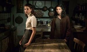 Elena (Margherita Mazzucco) and Lila (Gaia Girace) in My Brilliant Friend