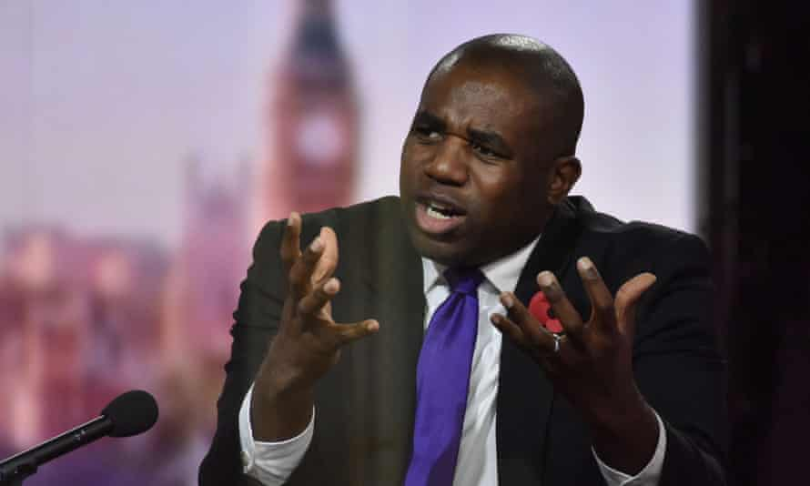 Labour's David Lammy reported on discrimination by the criminal justice system in 2017.