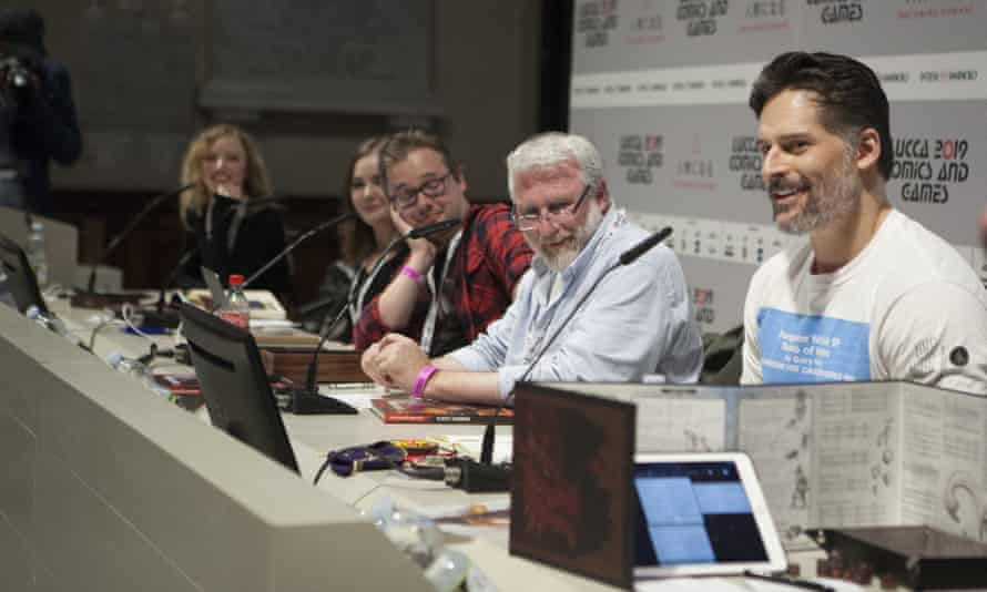Live Dungeons and Dragons at the Lucca Games Festival