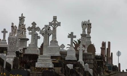 Sydney's crowded Waverley cemetery