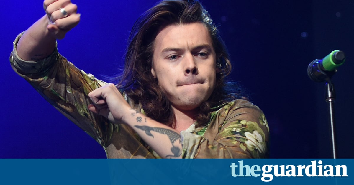 Harry Styles's solo debut single ends Ed Sheeran's 13 weeks at top of charts