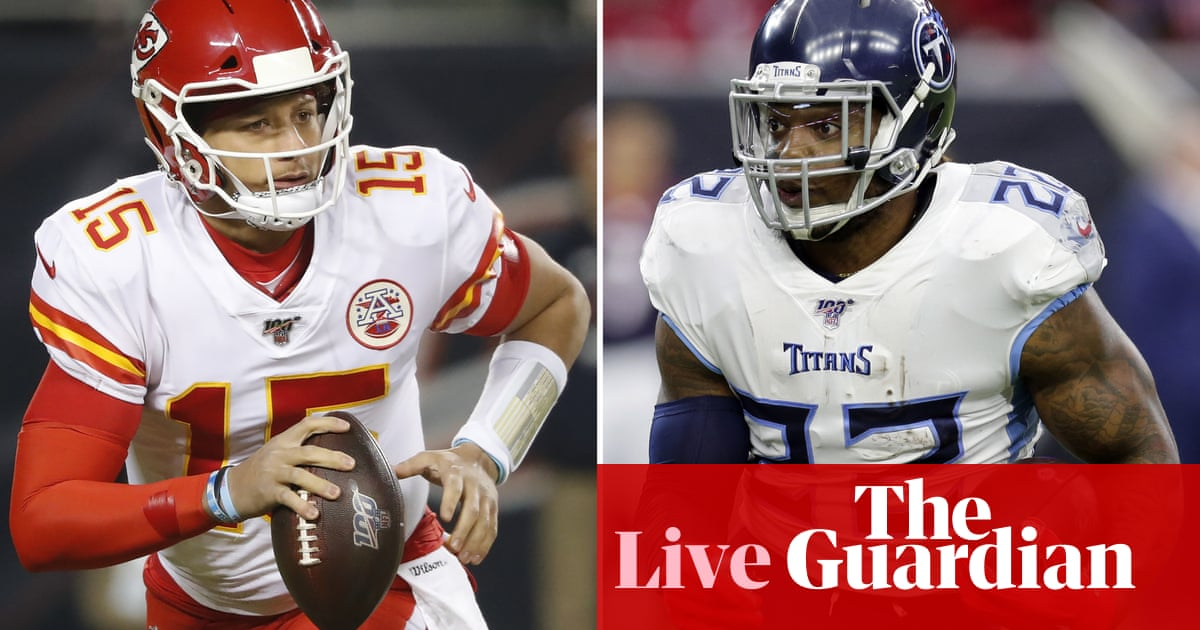 AFC championship game: Tennessee Titans v Kansas City Chiefs – live!