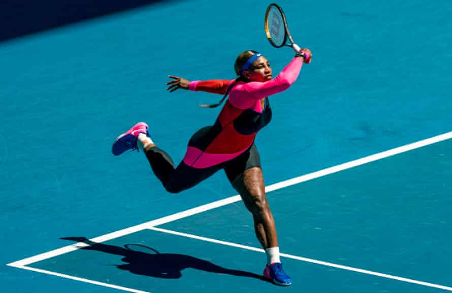 Athletes such as Serena Williams build their success on hours of training and practice