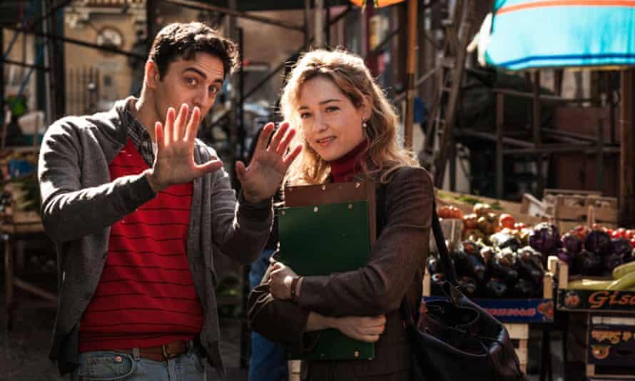 In love … Pif as Arturo and Cristiana Capotondi as Flora in The Mafia Only Kills in Summer