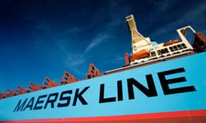 A Maersk Line container ship