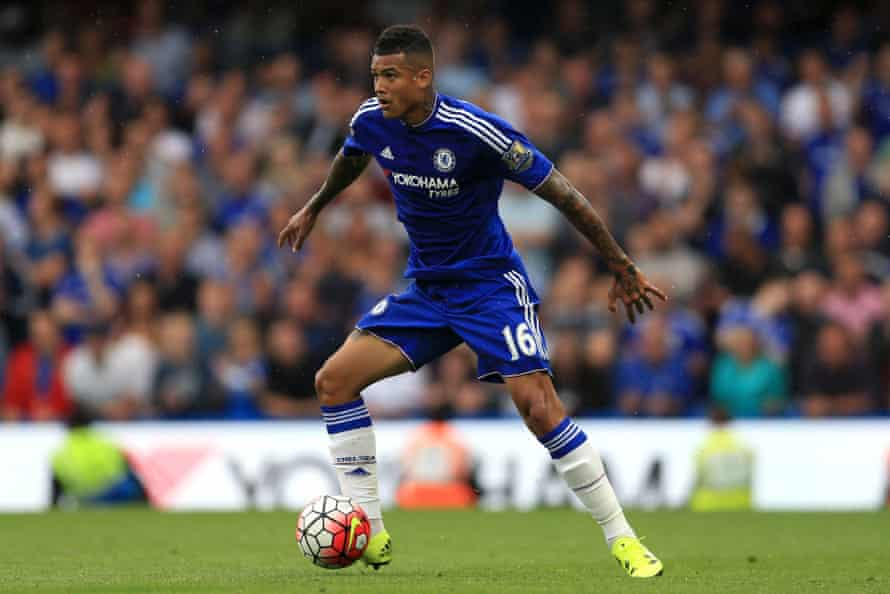 Chelsea's Robert Kenedy looks up before taking the ball forward against Crystal Palace at Stamford Bridge.