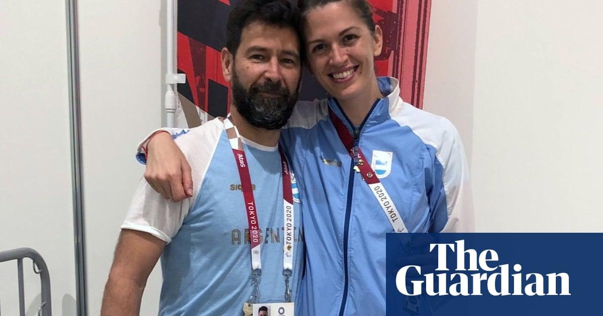 Argentina's Pérez Maurice loses Olympic fencing bout but gains fiancé