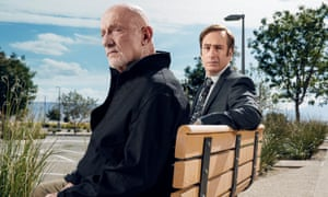 Jonathan Banks and Bob Odenkirk in Better Call Saul Season 2.