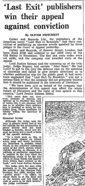 The Guardian, 1 August 1968.