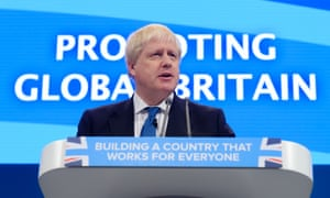 'Without pain and doubt and anxiety, there can be no pleasure, no triumph and no success,' said Boris Johnson at the Conservative conference.