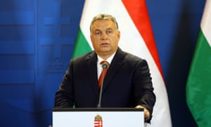 The Hungarian prime minister Viktor Orban whose increasingly illiberal policies led to MEPs voting last month to initiate disciplinary proceedings against his government.
