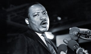 Martin Luther King makes his last speech before he was killed in Memphis on 4 April 1968.