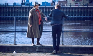Brenda Blethyn as Vera and Kenny Doughty as DS Aiden Healy in the ITV series.