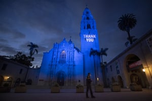 The California Tower and Museum of Man in Balboa Park in San Diego, US