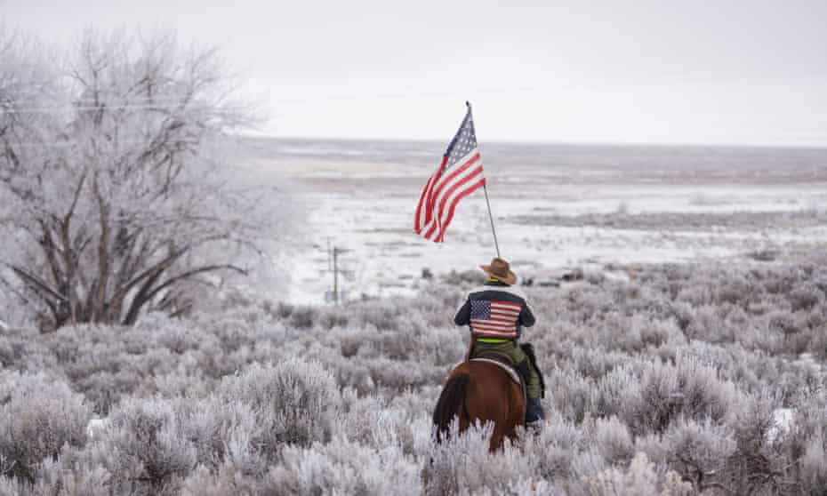 The leader of armed activists at the occupied Malheur national wildlife refuge