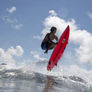 Japanese surfer Kanoa Igarashi