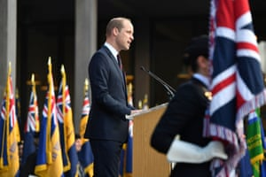 Prince William speaks at the National Memorial Arboretum