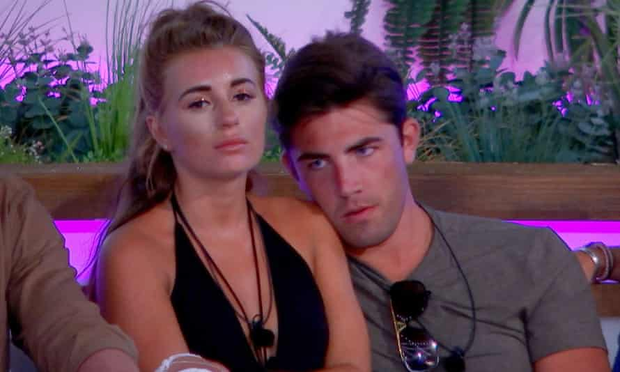Love Island contestants Dani Dyer and Jack Fincham