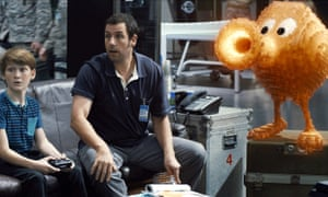 A video game character takes on a life of its own in the 2015 film Pixels.