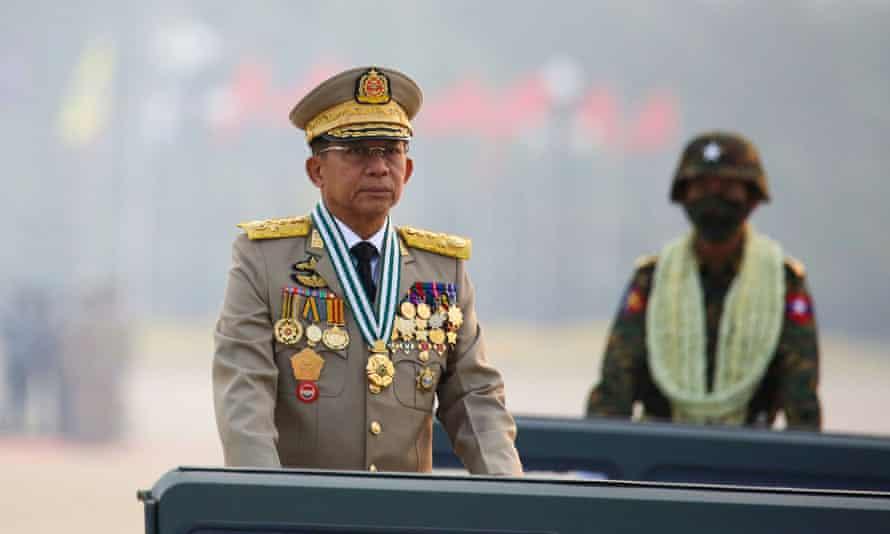 Myanmar junta chief Gen Min Aung Hlaing