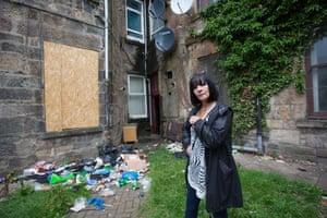 Liz, activist, Govanhill, Glasgow