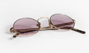 Ozzy Osbourne's trademark glasses.