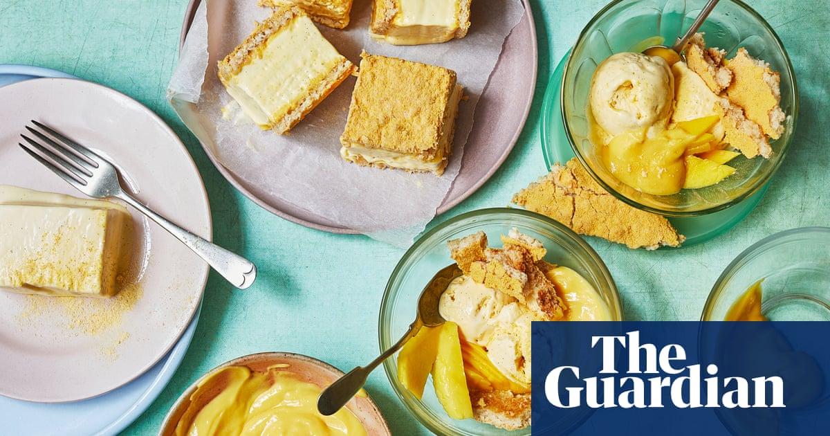 Terri Mercieca's recipes for vanilla ice-cream parfait sandwich and sundae