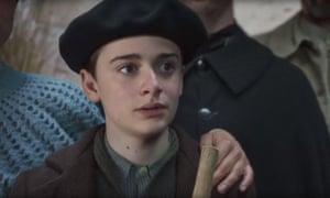 Lovely innocence … Noah Schnapp in Waiting for Anya.