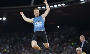 Greg Rutherford, long jumper